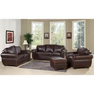 abbyson living richfield 4 premium top grain leather
