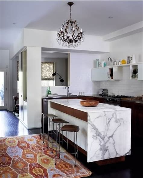 carrara marble kitchen island my eclectic office the plan thewhitebuffalostylingco