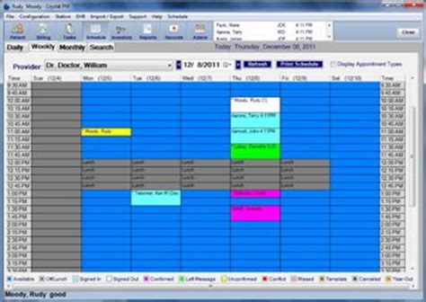 doctor schedule template support archives pm