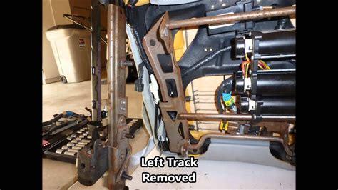 lincoln town car seat motor repair youtube