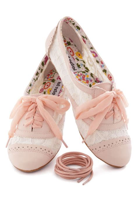 Top Five Pretty Flat Shoes At A Discount In The Schuh Summer Sale by A Pretty Sight Flat In Pink Mod Retro Vintage Flats