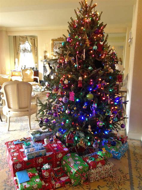 bright christmas tree decorations ideas decoration love