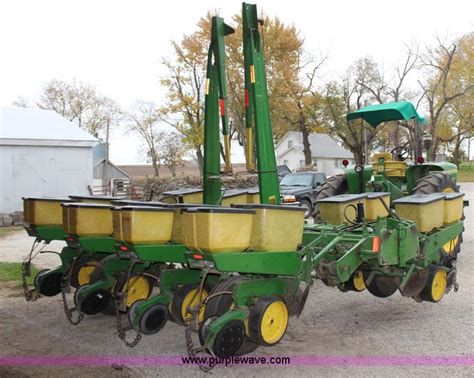 Corn Planter Monitor by Deere 7000 Eight Row Planter No Reserve Auction On
