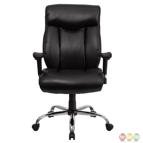 big swivel chair hercules big black leather swivel office chair w