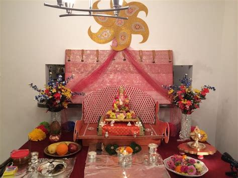 decoration for ganesh festival at home ganesh chaturthi decoration at home for the home