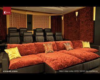 cineak intimo fortuny luxury home theater modern