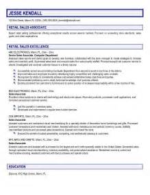 retail resume sles cover letter sales associates create a cover letter that