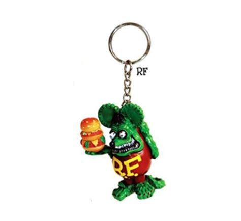 rat fink tower burger key chain ed big daddy roth collectibles