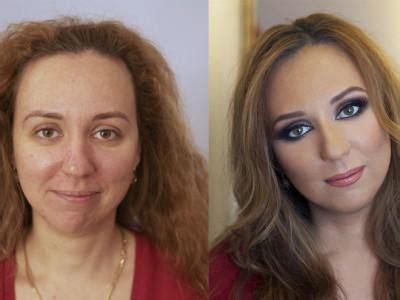 Makeup Makeover Komplit make up vorher nachher so setzt make up artist vadim