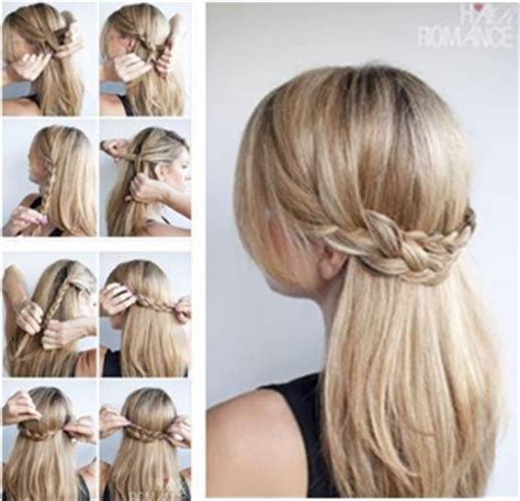 casual hairstyles tied up tutoriel coiffure mes conseil de filles