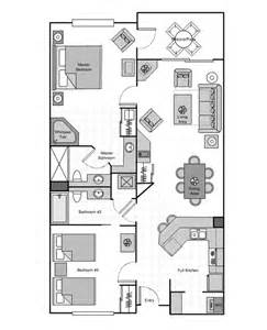2 Bedroom Villa Sheraton Vistana Villages Vistana Villa 2 3 Bedroom Resorts Orlando