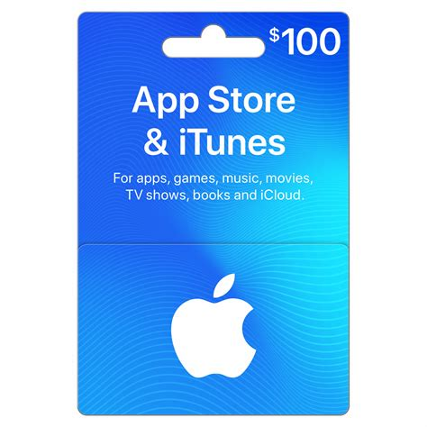 Gift Card For Itunes - 100 itunes gift card bj s wholesale club