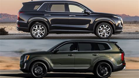 2020 Kia Telluride Vs Honda Pilot by Refreshing Or Revolting 2020 Kia Telluride Vs Hyundai