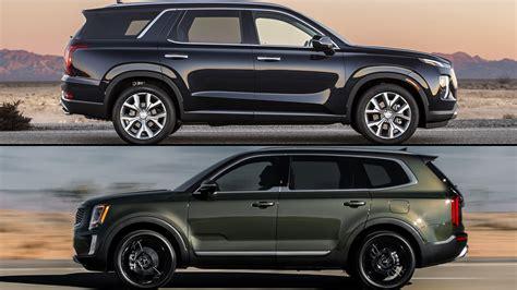 2020 Hyundai Palisade Vs Kia Telluride refreshing or revolting 2020 kia telluride vs hyundai