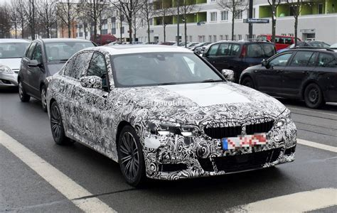 Bmw 3 Series 2019 White by 2019 Bmw 3 Series Prototype Shows Production Design Looks