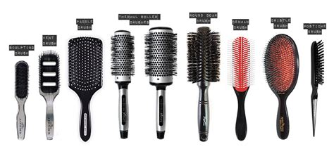 Types Of Hair Combs And Their Uses by Choose The Right Brush Makeover Masters