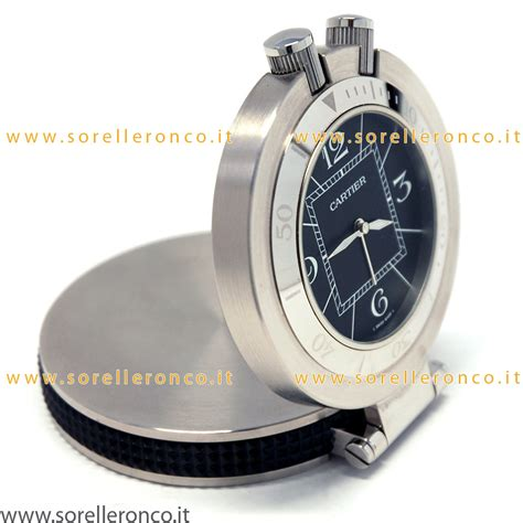 orologi da tavolo cartier cartier sveglia da tavolo 2879