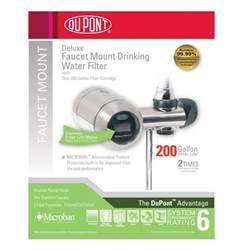wffm350xbn dupont faucet mount water filter brushed nickel