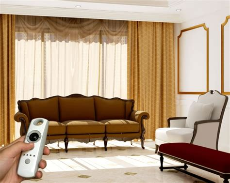 motorized drapes motorized drapes from somfy by sedar home technologies