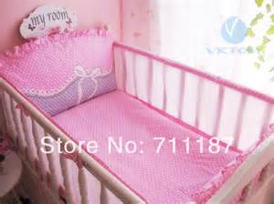 Where To Buy Baby Cot Aliexpress Buy Pink Cot Bedding Sets For