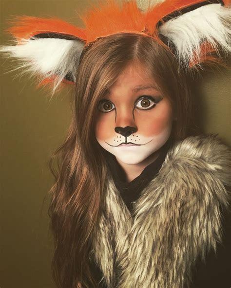 face ups on pinterest 36 pins cute and easy little girl fox halloween makeup makeup