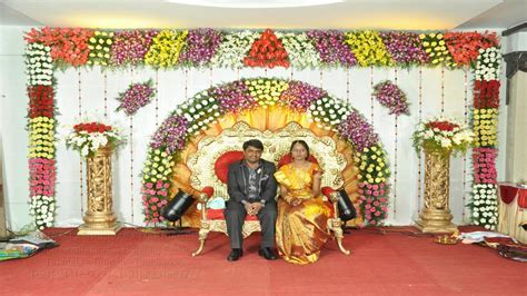 TSM reception Decorations procedure for marriage in