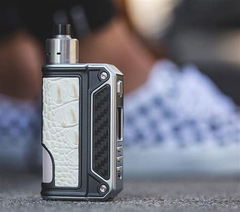 Therion Dna 75c Snake Skin therion bf dna 75c by lost vape white crocodile skin vape junkies