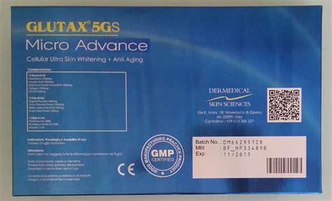Glutax 5gs Micro Advance 1b glutathione philippines