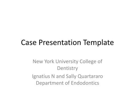 Ppt Case Presentation Template Powerpoint Presentation Id 1897370 Clinical Presentation Template