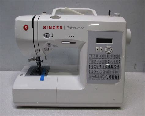 singer patchwork tm 7285q sewing quilting machine ebay
