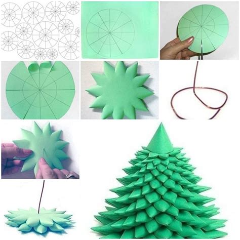 3d paper christmas tree with ribbon 83 best images about crafts on crafts how to make crepe and ribbon hair bows