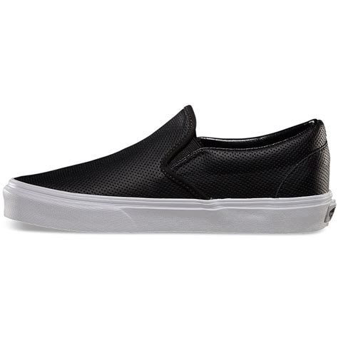 vans perf leather slip on shoes 39 00 60 00 select