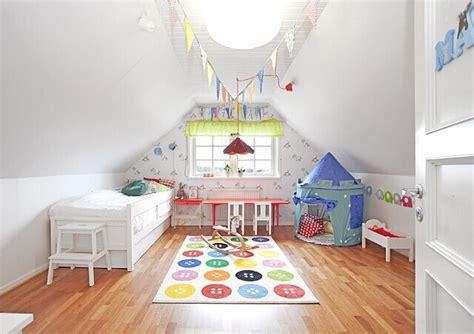 chambre enfant comble