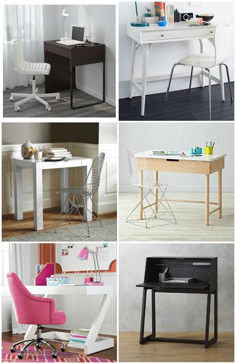 small desks for small spaces 9 modern desks for small spaces cool picks