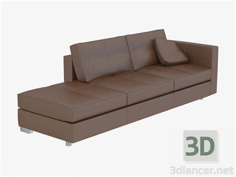 model sofa modern 3d model sofa modern leather manufacturer poltrona
