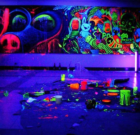 the best light paint colours for a dark room basement 197 best images about blacklight photography and art on