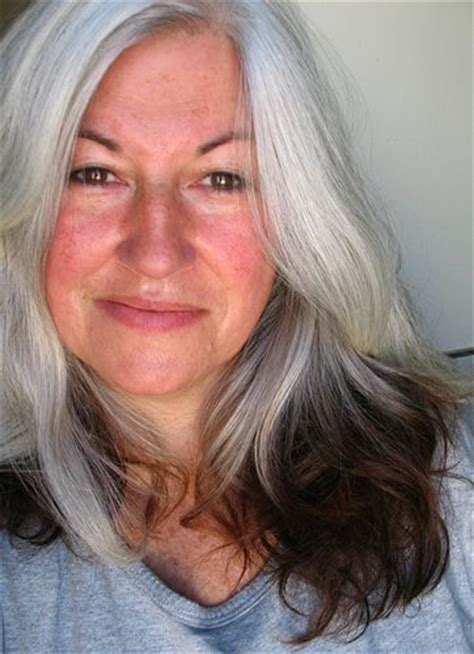 44 years old and 75 grey hair beautiful natural grey hair seize the gray pinterest