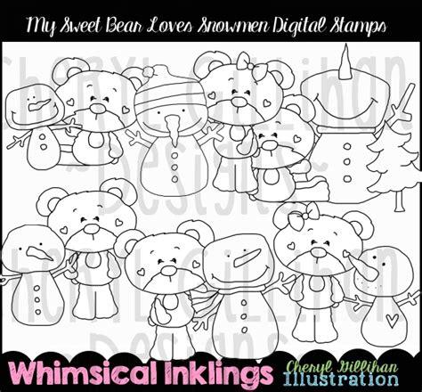 ka doodlebug designs ds snowmen sweet 2 40 kadoodle bug designs cut