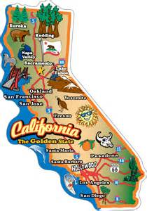 product map of california product map california map