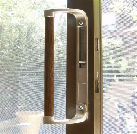 sliding door handle and lock sliding glass door handle with mortise lock sliding doors