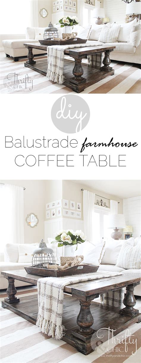 farmhouse coffee table decor thrifty and chic diy projects and home decor