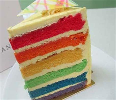 cara membuat cheese rainbow cake resep cara membuat rainbow cake vanilla berita terbaru