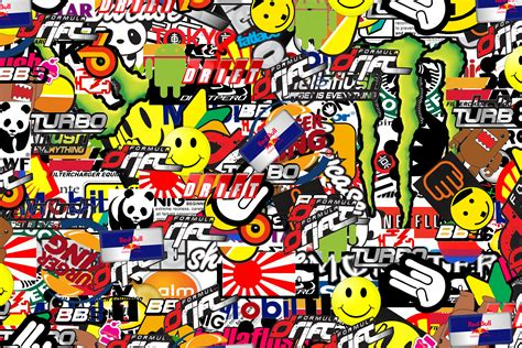 Wallpaper Sticker Batu Alam 02 sticker bomb wallpaper hd wallpapersafari