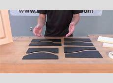 Infinity Cutting Tools - Pattern Door Templates - YouTube Cabinet Doors