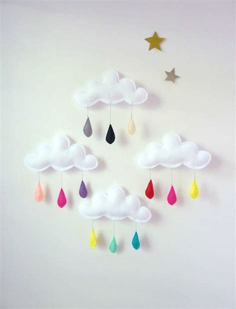 cloud mobile 10 diy baby mobiles tinyme