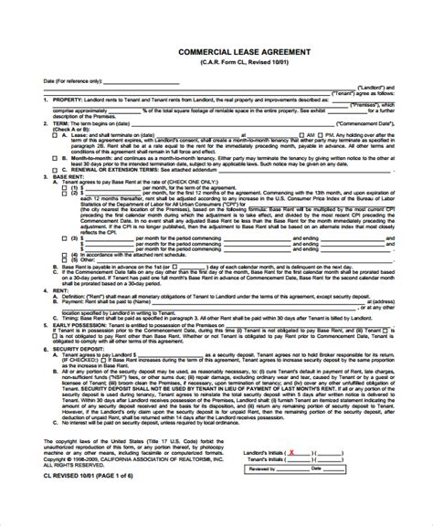 Lease Termination Letter India Sle Commercial Lease Termination Agreement 7 Documents In Word Pdf