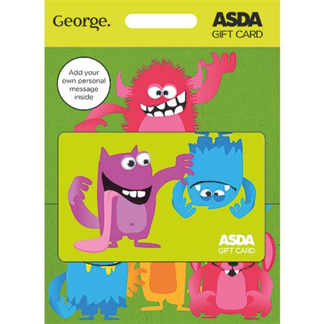 Buy Asda Gift Card - monsters gift card all occasions gift cards asda direct