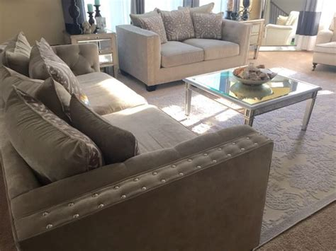 cindy crawford sidney road sofa cindy crawford home sidney road taupe sofa www