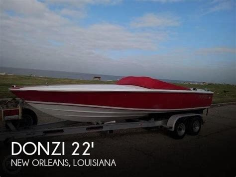boats unlimited new orleans sold used 1996 donzi 22 classic speed boat in new