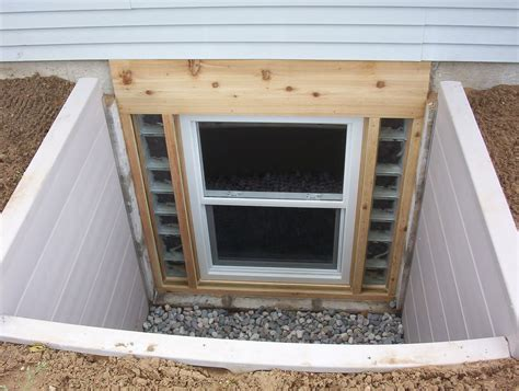 Walkout Basement Design egress window installation aquaguard waterproofing